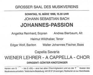 1998 Musikverein